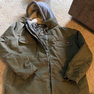 army green dickies coat